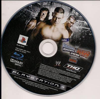 Cd smackdown vs raw 2010