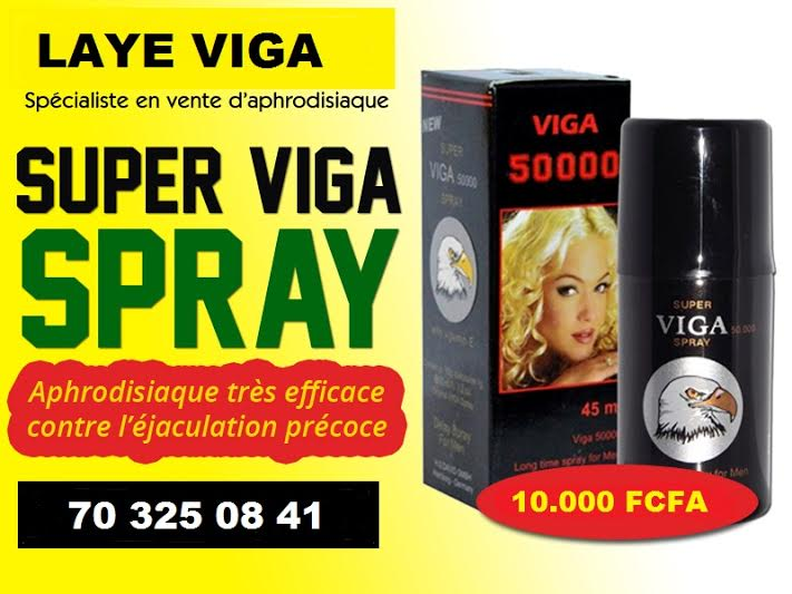 Aphrodisiaque viga spray