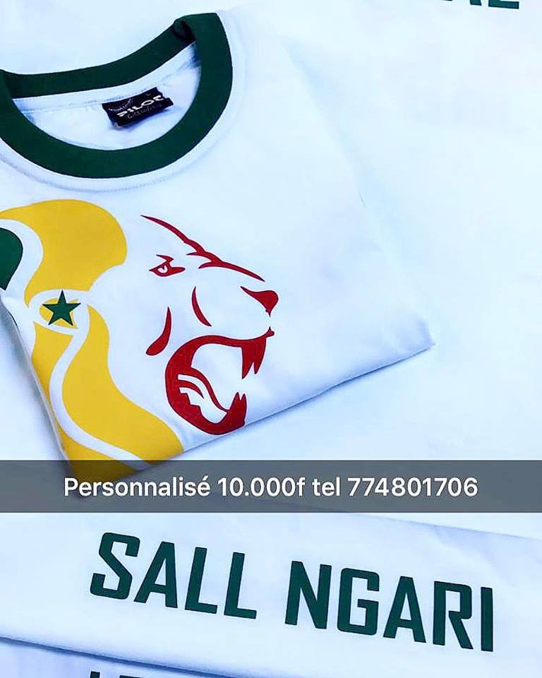 T-shirt Senegal