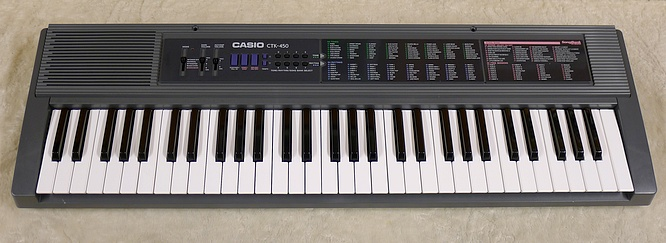 Casio ctk 450